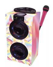Lexibook Máquina De Karaoke Portátil con Micrófono Bluetooth Rosa