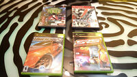 Original Xbox & Sony PS2 Games Lot of 4 Gd Cnd MGS 2 Poker NFS Underground SRS
