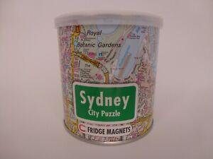 "NEW Sydney Australia City Magnetic Puzzle - 100 Pieces - 10.2""X 13.7"" - 4 & Up"