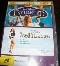 Enchanted / Ice Princess Disney 2 DVD (Australia Region 4) DVD - NEW