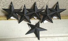 "(Dozen) 12 BLACK BARN STAR 3 3/8"" PRIMITIVE RUSTIC COUNTRY DECOR ""FREE SHIPPING"""