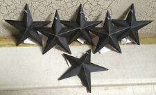 "(Dozen) 12 BLACK BARN STAR 3.5"" PRIMITIVE RUSTIC COUNTRY DECOR ""FREE SHIPPING"""