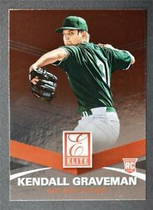 2015 Elite #7 Kendall Graveman RC - NM-MT