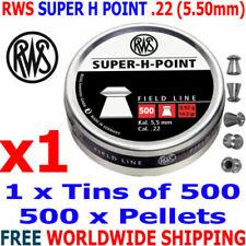 RWS .22 Calibre Pellets
