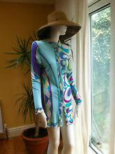 Emilio Pucci early 90s shirt dress -Rayon 42/uk 10-12