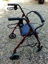 Light weight folding 4 wheeled mobility walking frame/walker/rollator