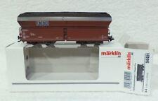 Marklin 94401 wagen 4624 RBH : 4624.008 stortwagen beladen met ECHTE steenkool !