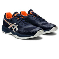 Asics Mens Netburner Ballistic FF Court Shoes - Navy Blue Sports Squash