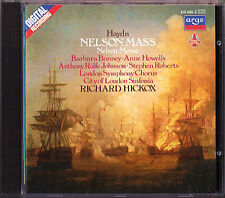 Hickox: HAYDN NELSON MASS CD Barbara Bonney Anne Howells Anthony Rolfe Johnson