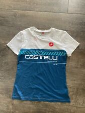 Women's Castelli Tech Tee Brand New Blue Size Small