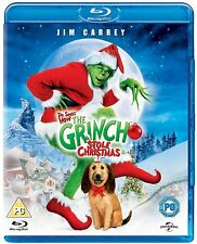 How The Grinch Stole Christmas - UK Reg. B Blu Ray  - Jim Carrey/Anthony Hopkins