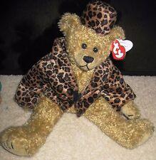 "14"" Ty Beanie Buddy ""ISABELLA"" 1993  Bear!  Swing & brown Tush Tags PVC pellets"