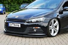 Spoilerschwert Frontspoilerlippe Cuplippe aus ABS VW Scirocco 3 R-Line mit ABE
