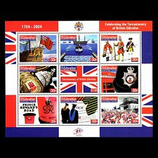 Gibraltar 2004 - The Crown Colony Gibraltar Ship Flag Military - Sc 965 MNH