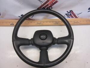 90 91 92 93 94 Chevy Lumina Z34 3 Spoke Bar Black Steering Wheel Monte Carlo