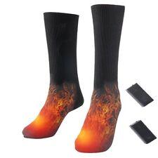 Battery Heated Socks Electric Foot Shoe Boot Warm Feet Toe Warmer Heater Fishing