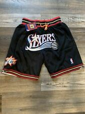 Brand New Philadelphia 76ers Summer City Basketball Team New Shorts Stitched Nba