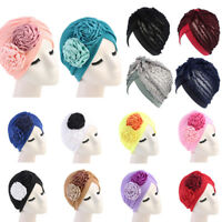 Islamic Women Hijab Chemo Cap Indian Style Turban Hat Head Wrap Scarf Muslim New