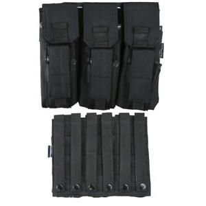 Kombat Triple M Series Magazine Pouch with Pistol Pouch Airsoft Molle Kit