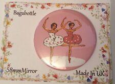 Pocket Mirror Ballet Ballerina Makeup Purse Bag Birthday Party Filler Wedding