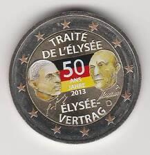 -- 2 EURO COULEUR / ALLEMAGNE 2013 -- ELYSEE VERTRAG