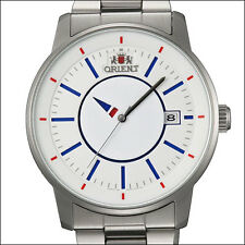 Orient 21-Jewel Automatic Disk Watch with Unique Rotating Hour Hand #ER0200FD