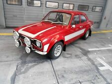 Ford Escort MKI RS 2000 rs2000 Rouge Red White 1973 Triple 9 IXO Métal 1:18