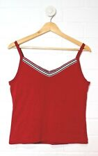 NEW BALANCE Red Singlet Active Top Built in Support Size L Size 14