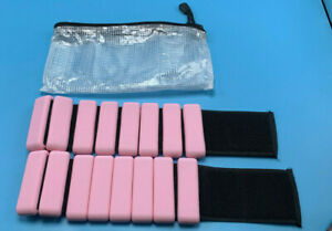 Adjustable Wrist/Ankle Weights 1lb Each Pink PAIR W/CASE