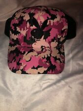 Playboy Pink And Black Hat