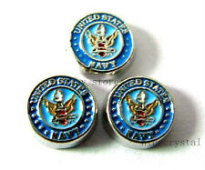 10pcs United States navy   Floating charms  For Glass living  Locket FC273-2