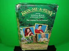 Sign - Me - A - Story Linda Bove Of Sesame Street VHS - B346