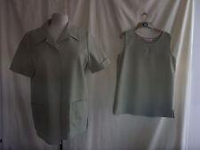 Ladies Jacket/shift top - Kaleidoscope, size 14, green, smart/casual - 0905