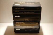 Tamura F-7002 Single Ended Output Transformers Permalloy Core NOS