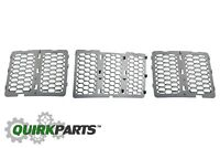 14-16 Jeep Grand Cherokee CHROME GRILLE INSERT HONEYCOMB OEM NEW MOPAR GENUINE