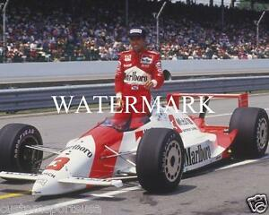 RICK MEARS Indy Glossy 8 x 10 Photo Marlboro Racing Man Cave