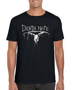 """"""" Death Note """" Anime Manga Cosplay Inspired T-Shirt S-2XL"""
