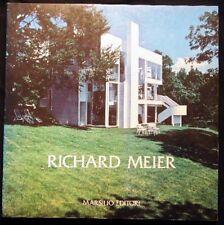 1981 RICHARD MEIER ARCHITECTURE DESIGN ILLUSTRATED PROTOTYPES BIOGRAPHY +