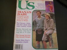 Princess Diana, Rod Stewart, Warren Beatty, Mary Kay - Us Magazine 1982