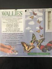 """""""Wallies� 25 Wallpaper Cutouts of Butterflies"""