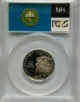 PCGS 2000-S SILVER Proof NEW HAMPSHIRE STATE QUARTER PR69 Live Free or Die US Ag
