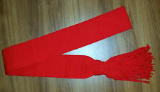 SCARLET RED INFANTRY SASH  - MINT NEW MADE AUSTRALIAN & BRITISH ARMY XS to XL