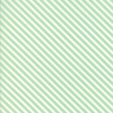Handmade Star Candy Stripe Aqua by Bonnie and Camille for Moda, 1/2 yard fabric