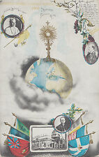 Carte Postale Souvenir 21e Congrès Eucharistique MONTREAL Québec Canada 1910
