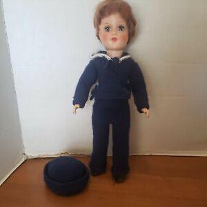 "Gorgeous Vintage Original Mary Hoyer Doll 14"" HARD PLASTIC"