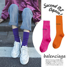 Neon Colour Ladies Womens Long Ankle Socks