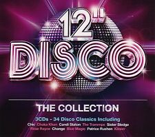 CHIC/SLAVE/KLEEER/+ - 12 INCH DISCO: THE COLLECTION 3 CD  34 TRACKS NEU