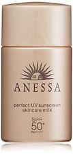 ??NEW?E?Shiseido Anessa Perfect UV Sunscreen Skin Care Milk Sensitive From japan