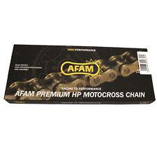 AFAM Motocross Kette 520-er Teilung 116-er Länge Gold Neu MX4 Offroad Chain