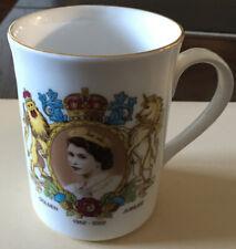 Christmas Ideas Antique Queen Elizabeth Golden Jubilee Mug Bronte China